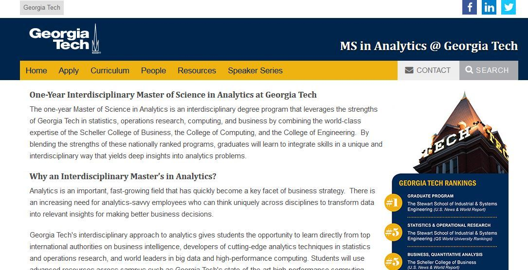 Top 27 Ms Data Science Schools 2020 In 2020 Reviews Features Pricing Comparison Pat Research B2b Reviews Buying Guides Best Practices