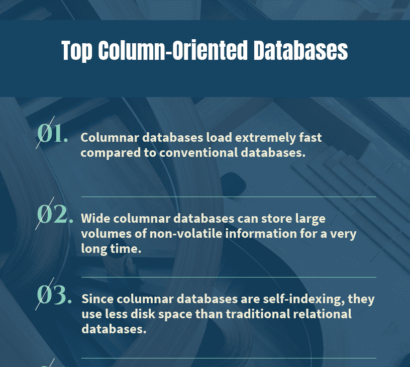 Top 9 Column-Oriented Databases - Compare Reviews, Features, Pricing