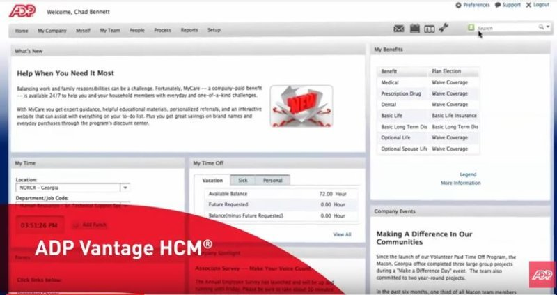 ADP Vantage HCM - Compare Reviews, Features, Pricing in 2019 - PAT
