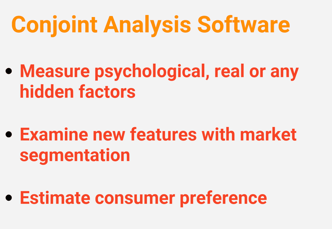 Top Conjoint Analysis Software