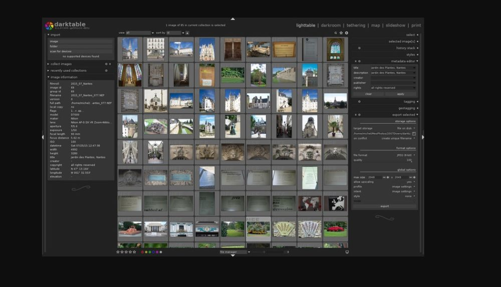 darktable - Compare Reviews, Features, Pricing in 2019 - PAT