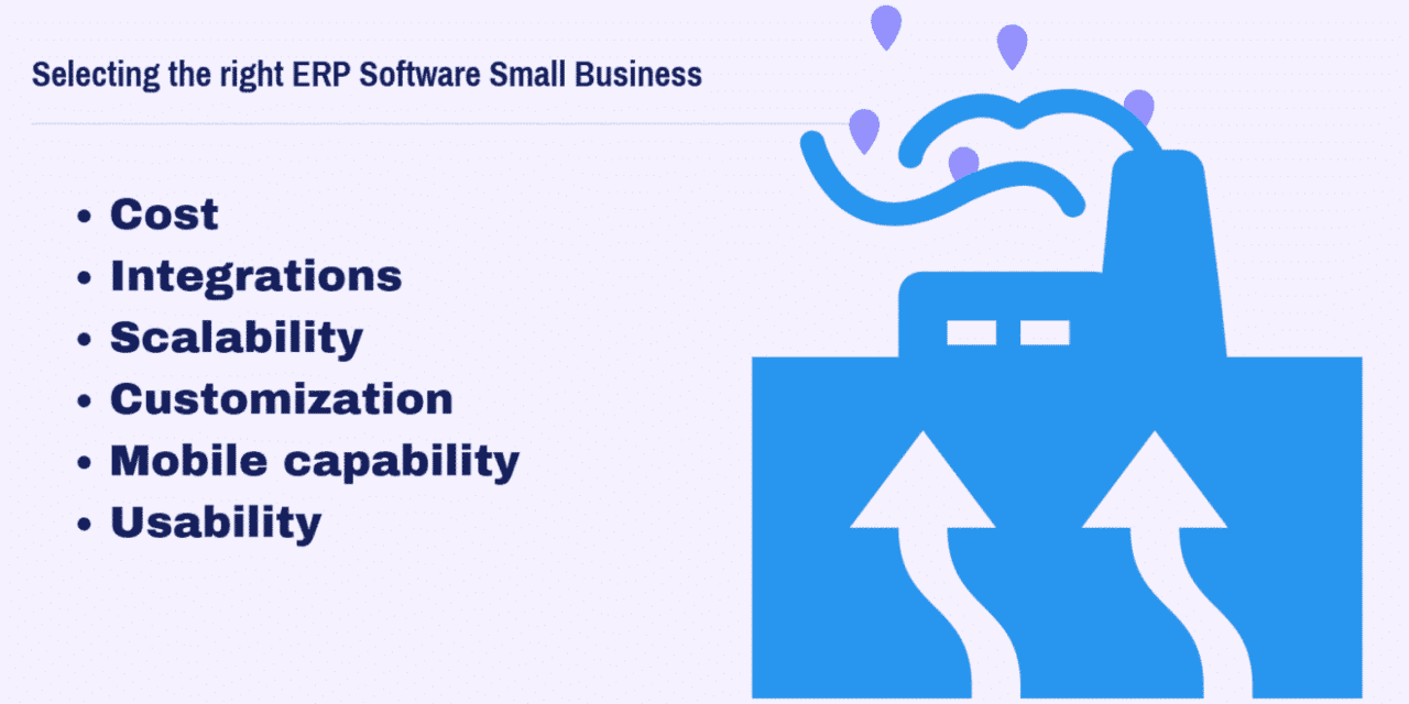 How to choose the right ERP Software Small Business