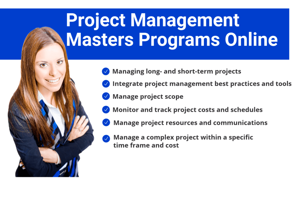 Top Project Management Masters Programs Online