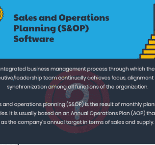 Top Sales and Operations Planning Software