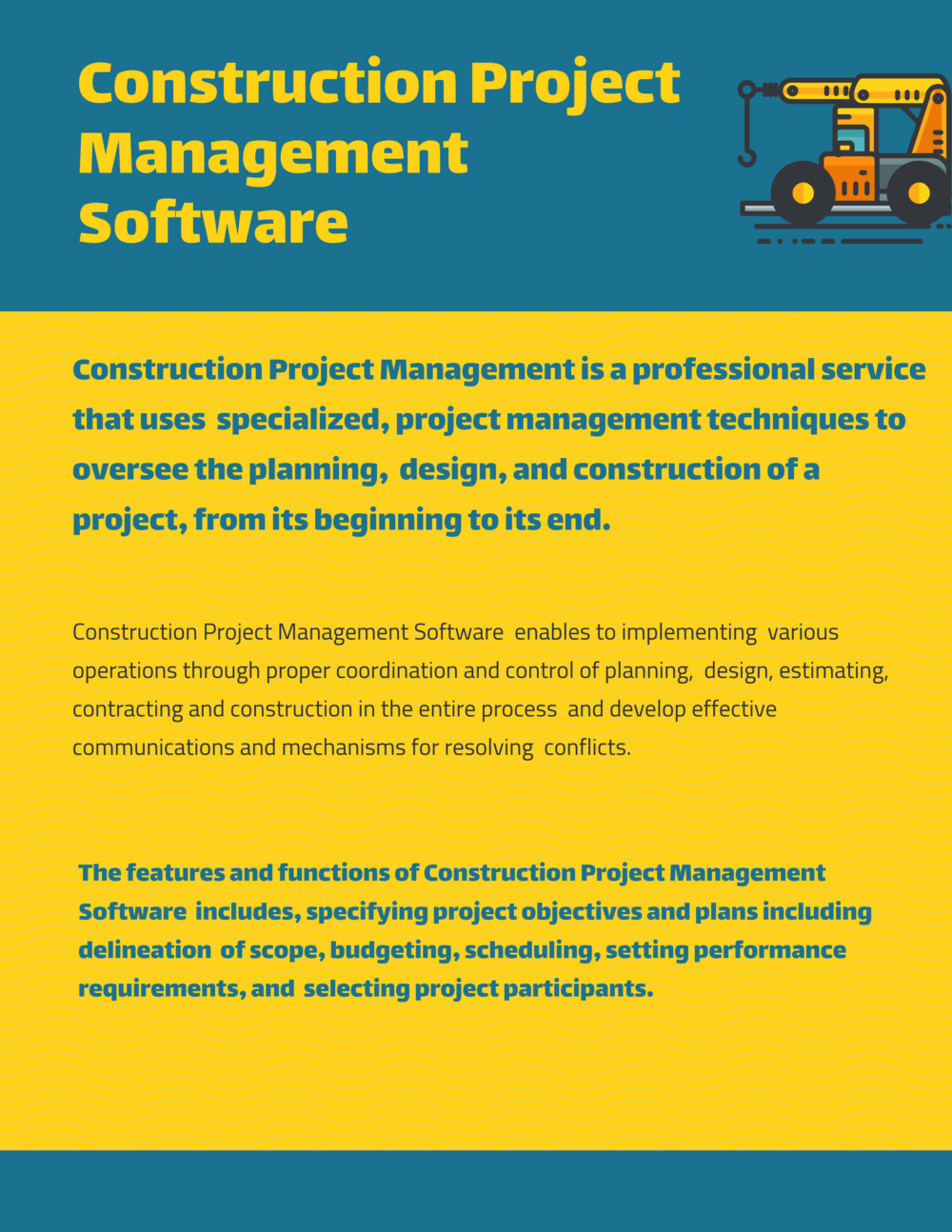 What are Construction Project Management Software
