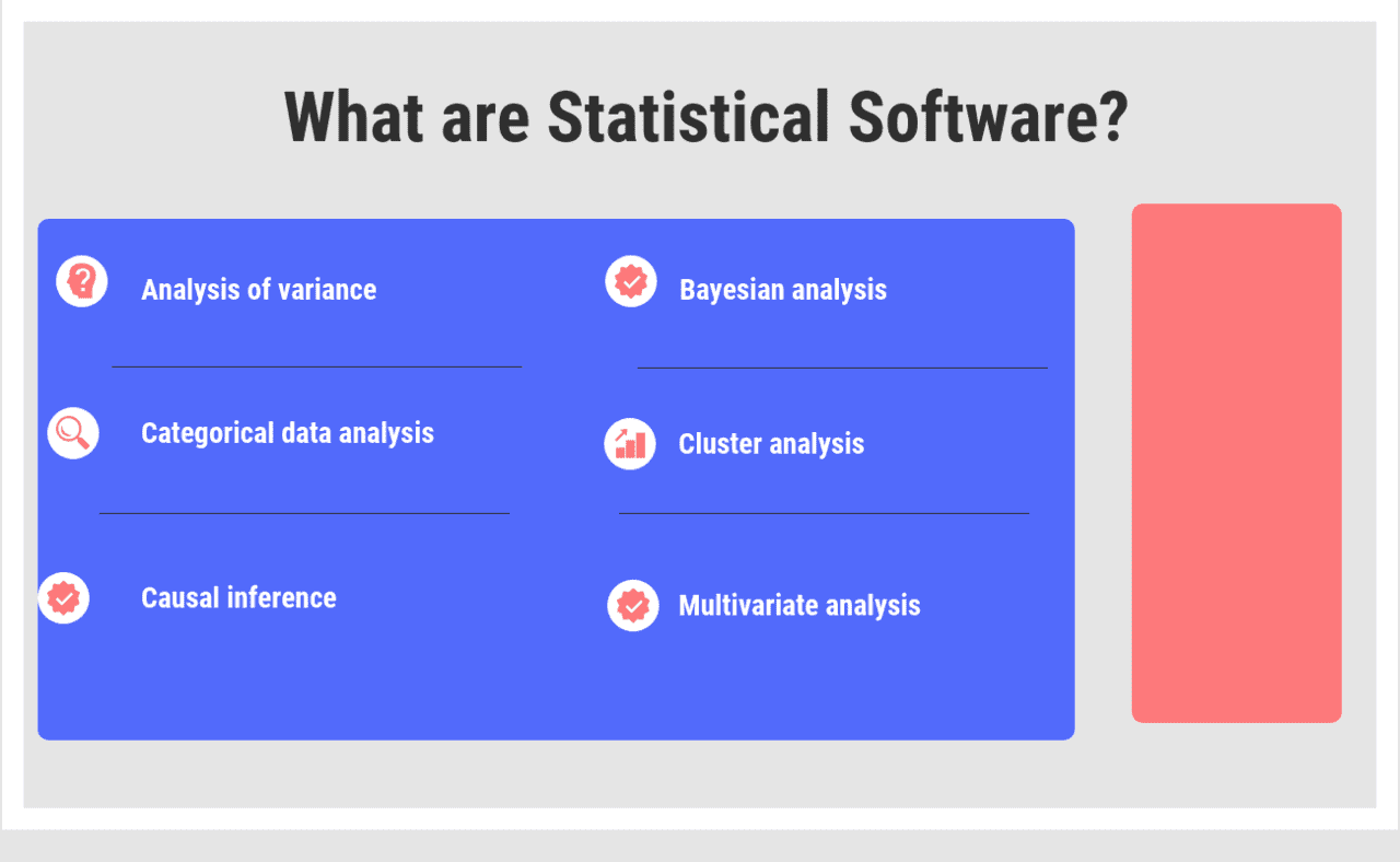 What are Statistical Software