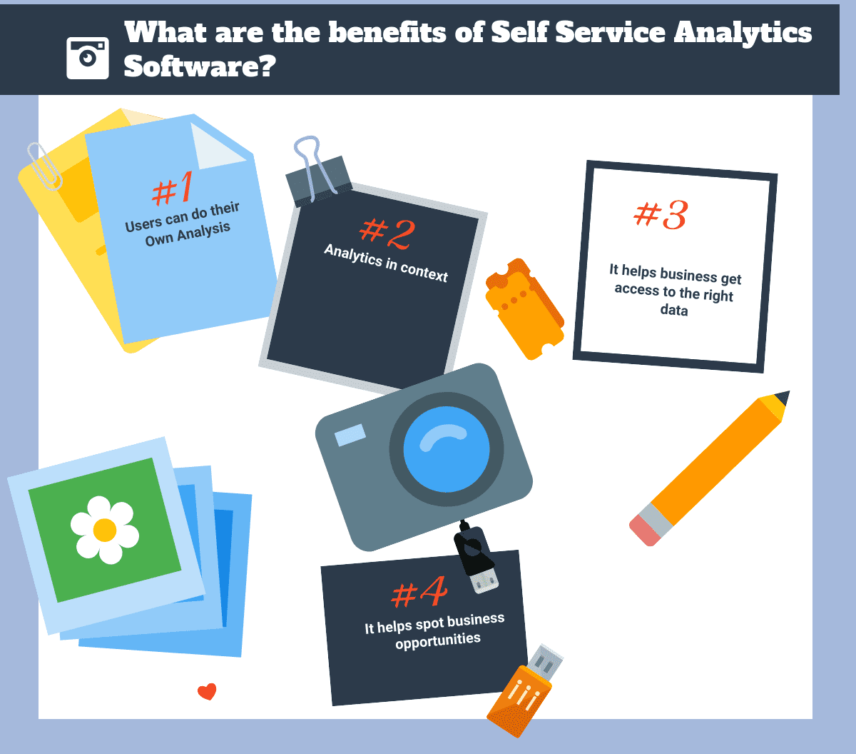 What are the benefits of Self Service Analytics Software