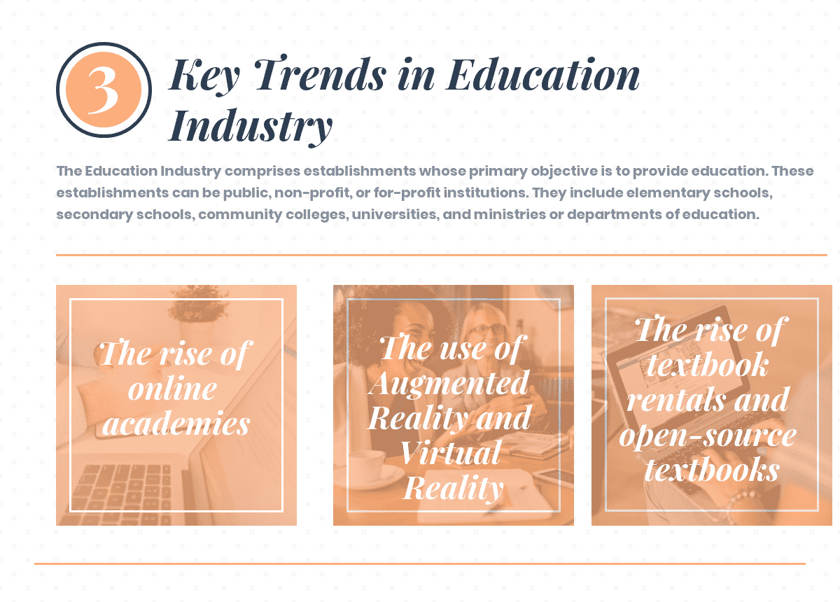 What are the Key Trends in Education Industry?