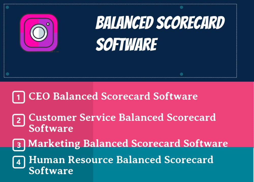 Top Balanced Scorecard Software