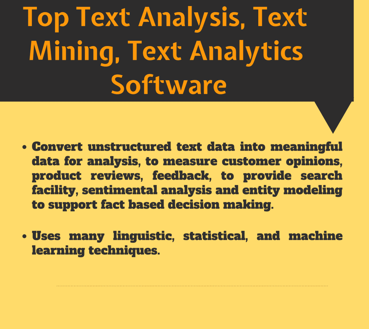 Top 63 Software for Text Analysis, Text Mining, Text