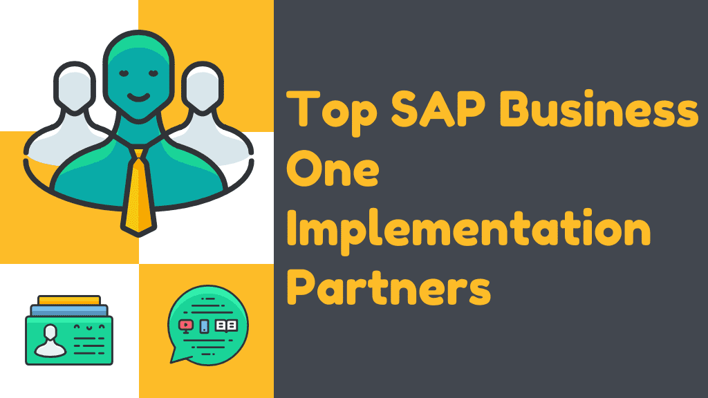 Top SAP Business One Consulting Partners