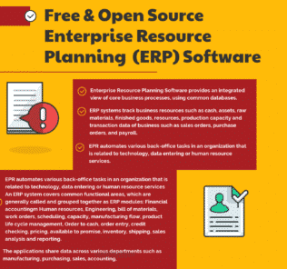 Top Free & Open Source Enterprise Resource Planning (ERP) Software