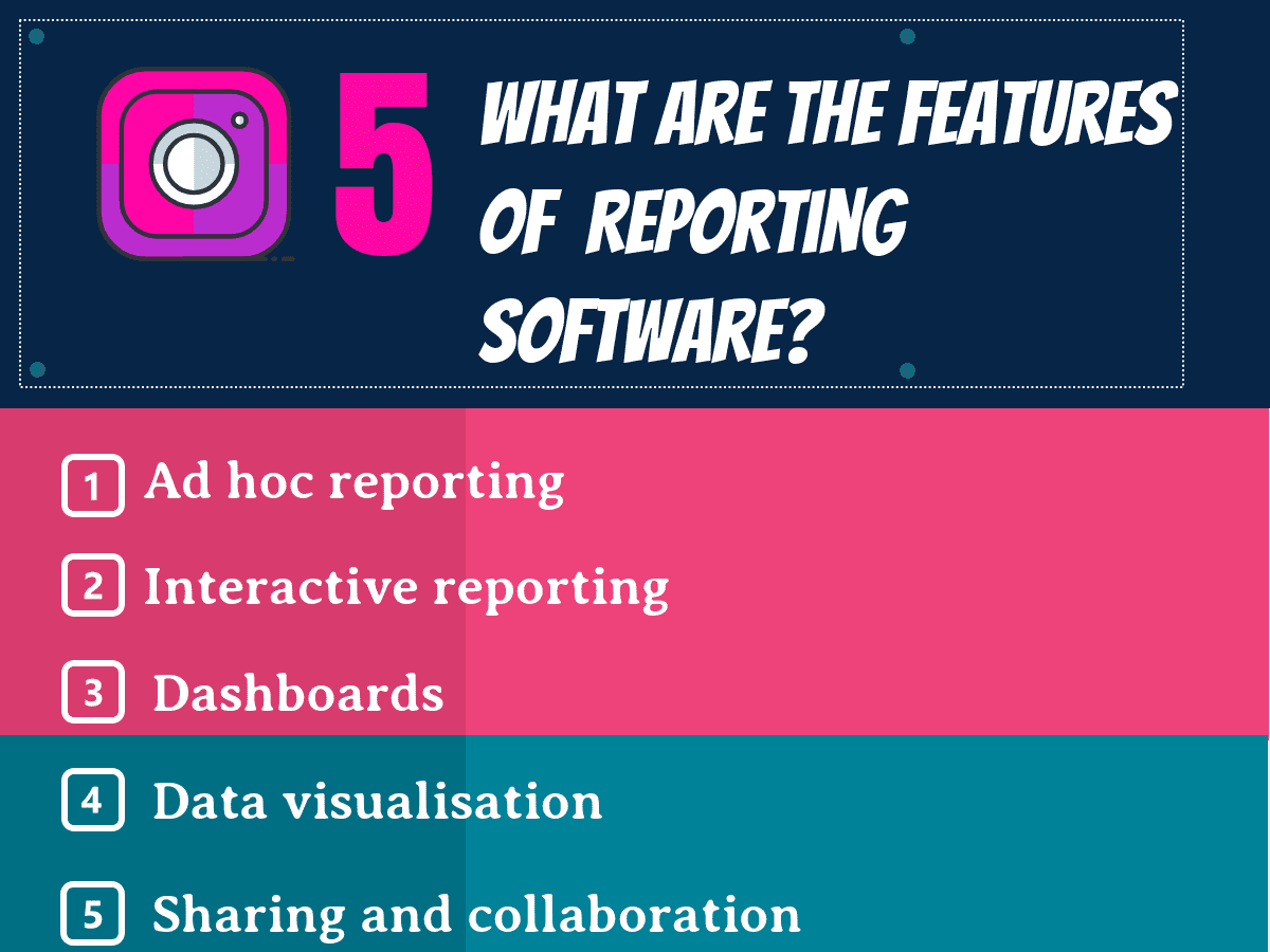 What are the features of Reporting Software?