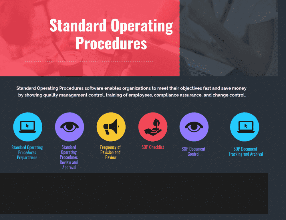 Guidelines for Preparing Standard Operating Procedures
