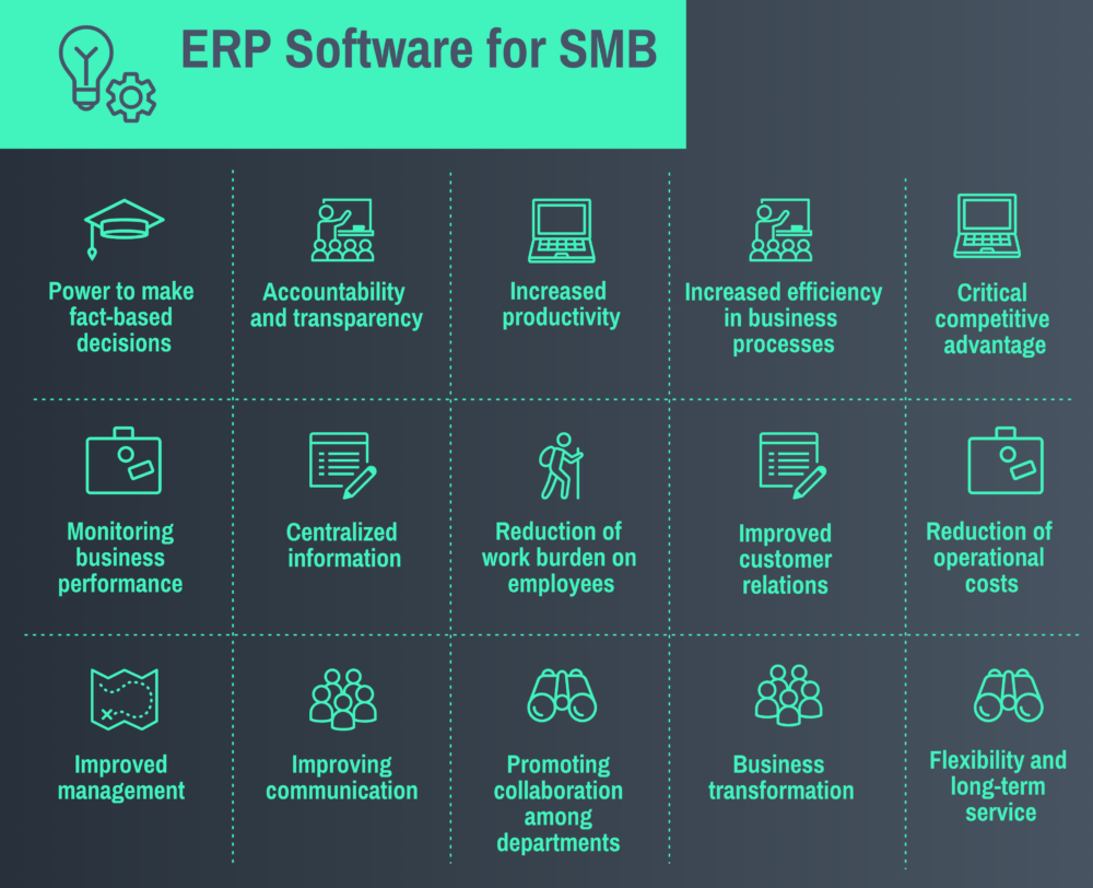 Why Small Businesses Need Enterprise Resource Planning Software
