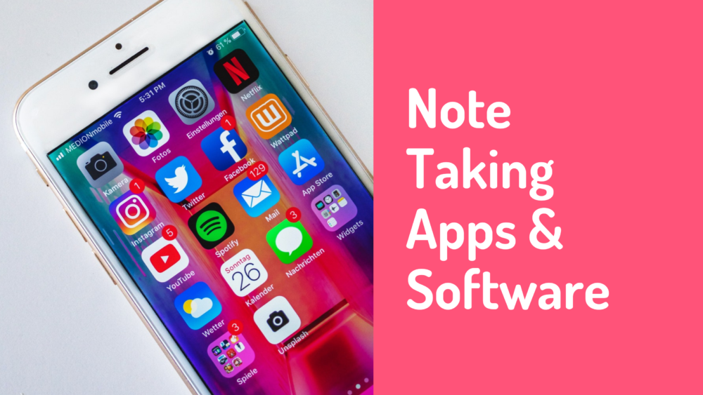 Top 26 Free and Premium Note Taking Apps & Software