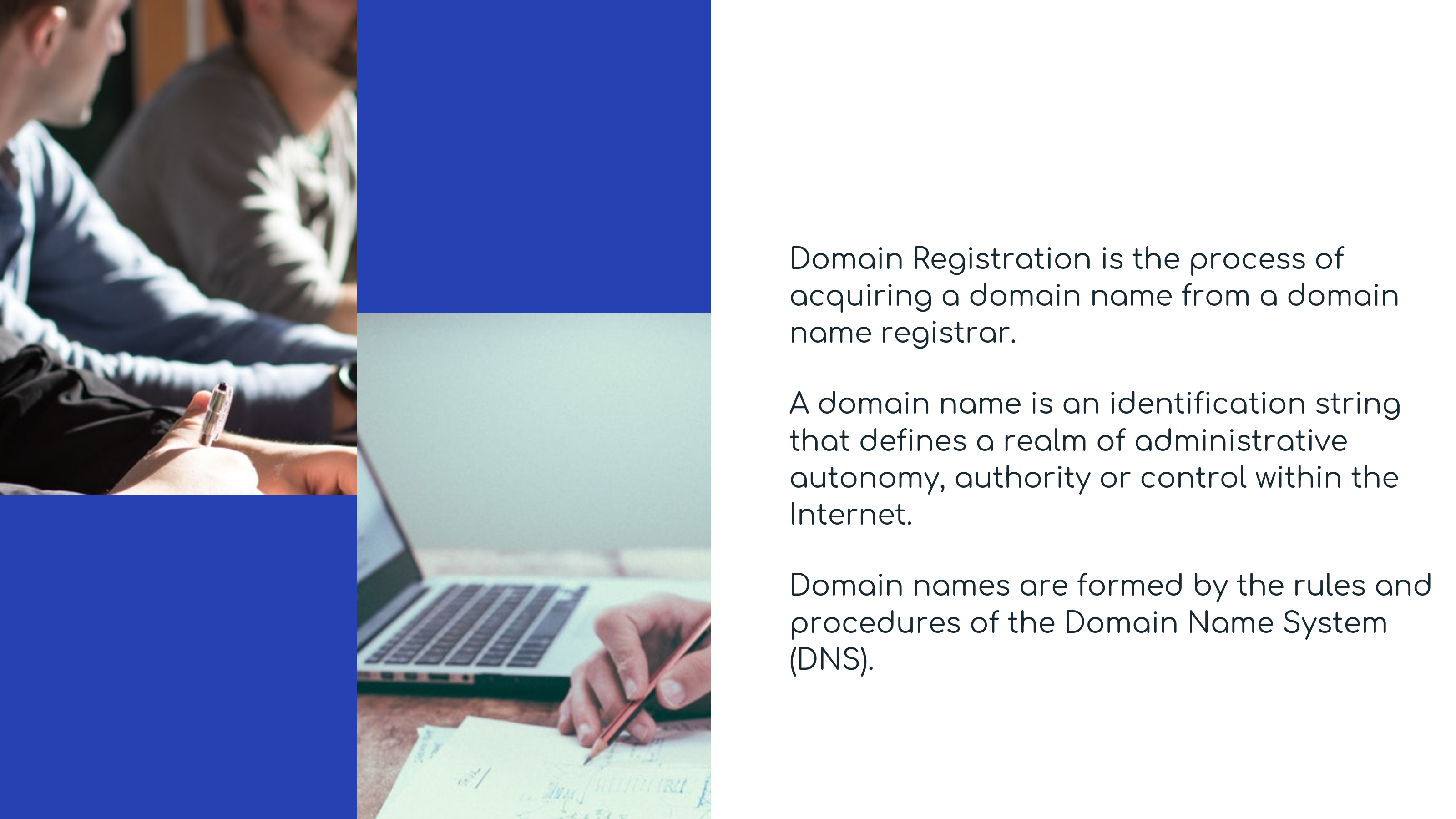 What are Domain Registration Providers